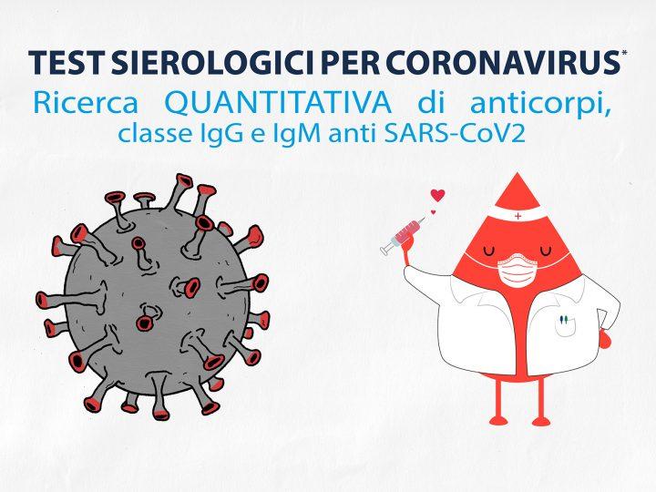 """A proposito di test sierologici per ricerca di anticorpi da """"SARS-COV-2"""" o """"COVID-19""""… proviamo a chiarire alcuni aspetti."""